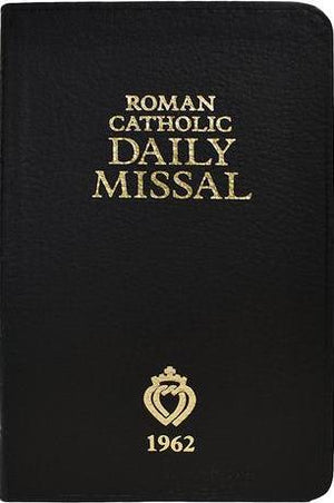 1962 Roman Catholic Daily Missal (The Latin Mass) - Genuine Leather