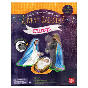 Countdown To Christmas: Advent Calendar Multi-Surface Clings
