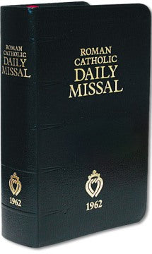 1962 Roman Catholic Daily Missal (The Latin Mass) - Leatherette Cover