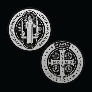 Car Decal - Saint Benedict Double