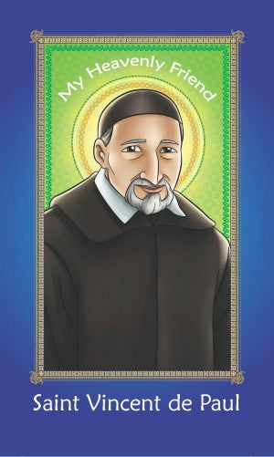 Prayer Card - Saint Vincent de Paul (Pack of 25)