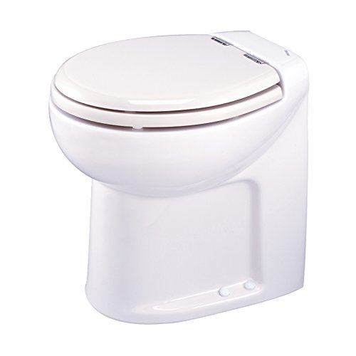 Thetford 38020 Tecma Silence 1 Mode 12V RV Toilet with Electric Solenoid-High, White
