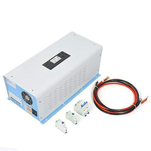Nitrip Pure Sine Wave Power Frequency Solar Inverter Charger 3000W 24VDC Input 200VAC Output