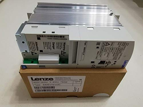 100% NEW and original Lenze Inverter 0.75KW E82EV751_4C in BOX E82EV751K4C