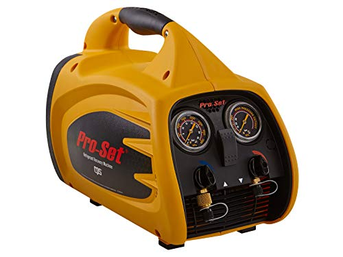 CPS Pro-Set TRS600 Sparkless Oil-Less Twin Cylinder Regirigerant Recovery Machine, 115V / 60Hz