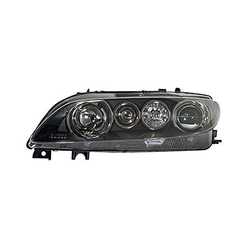 Replacement Passenger Side Headlight Lens and Housing Fits Mazda 6: With Mazda Speed Package With Factory HID/Xenon Headlights