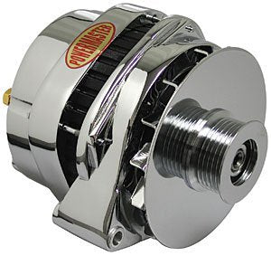 Powermaster 38203 Alternators - PowerMaster 200 Amp AlternatorLarge Delcochrome