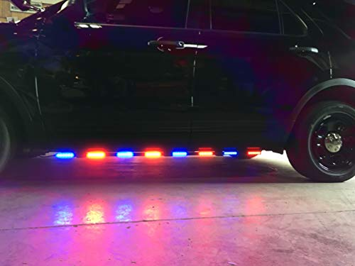 Feniex Rocker Panel Lights (sold as a set of 2) - Solo Red/Blue - FN-8816-4R4B