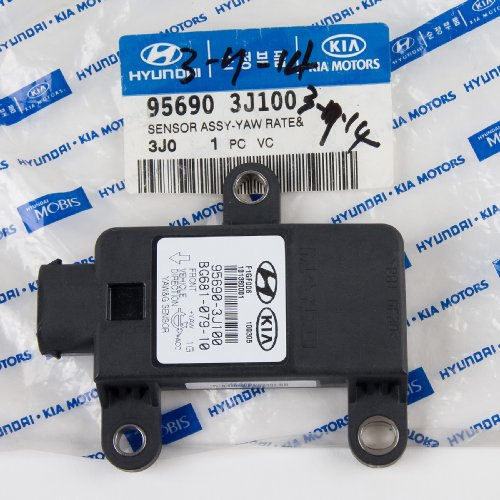 Genuine Hyundai 95690-3J100 Yaw Rate Sensor