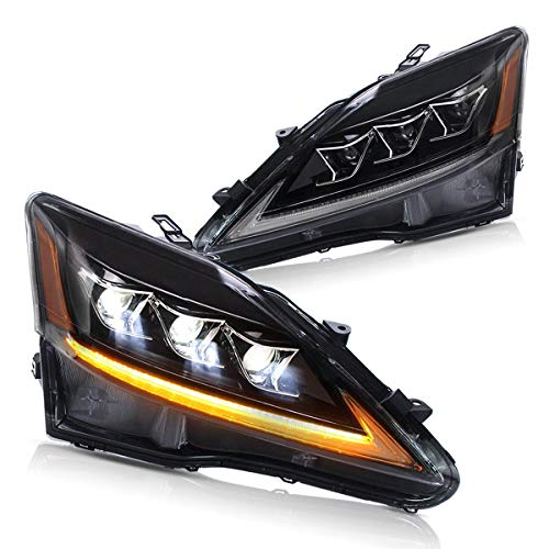 YUANZHENG Sequential Headlights for Lexus IS250 2006-2012 YAA-IS-0303H (Also fit Lexus IS 220d and IS F Model)