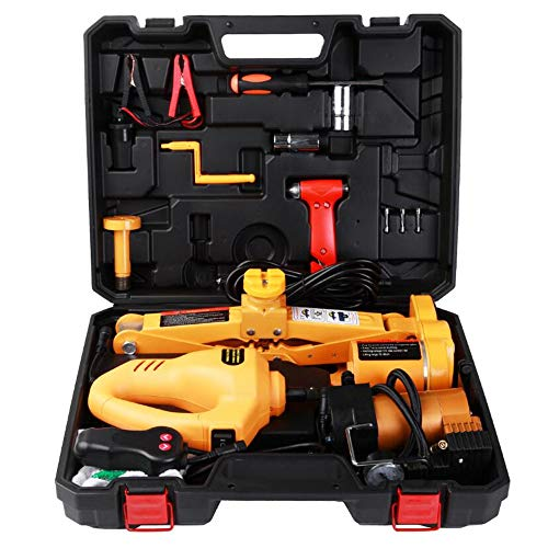 Electric Car Jack Or Jack Set 3 Ton Dc12v All-in-One Automatic Sedan Lift Scissor Jack Car Repair Tool with 1/2