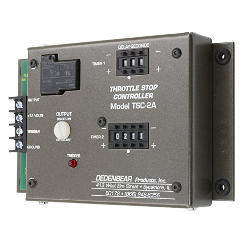 Auto Meter AutoMeter TSC2A Dedenbear Throttle Stop/Nitrous Controller, 2-Stage Timer (Single Output)
