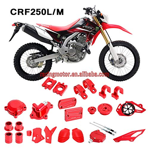 Win By - Modification Parts Rear Axle Block & Brake Reservoir Cover & Protect Cover & Other Bling Kit for Honda CRF250L CRF250M 2012-2015