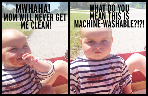 machine-washable clothes for women and children