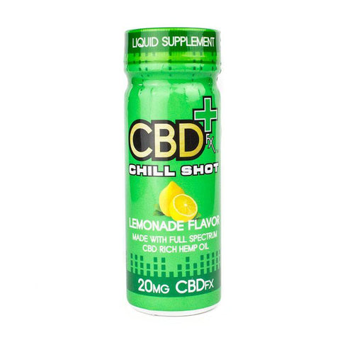 CBDfx – Lemonade Chill Shot (20mg CBD)