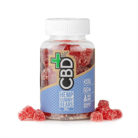 CBDfx – Gummy Bears (60 ct. 300mg CBD)