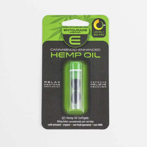 2-Pack Hemp Oil Softgels