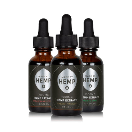 Made by Hemp - Hemp Extract Tincture (1oz, 1000mg CBD)