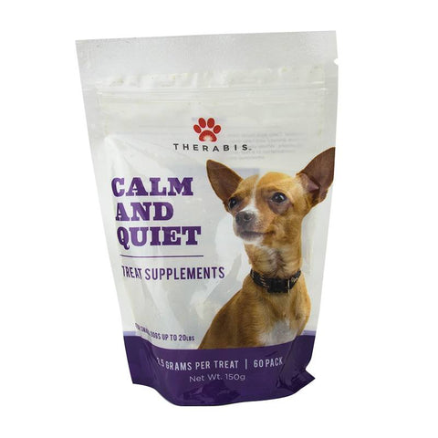 Therabis – CBD Dog Treats Calm & Quiet - Small dog (up to 20lbs)