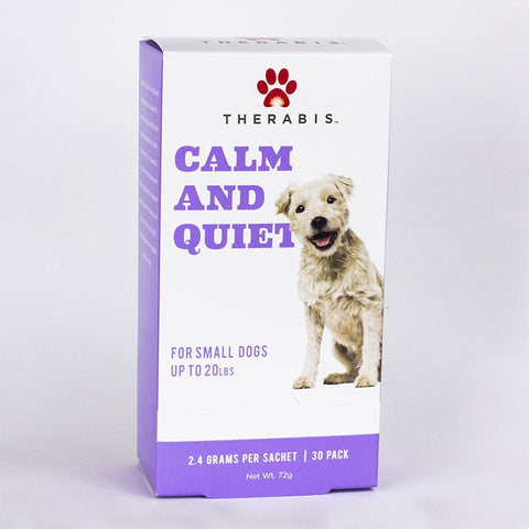 Therabis – Hemp for Pets (Calm and Quiet) - Medium dog (up to 60lbs)Therabis – Hemp for Pets (Calm and Quiet) - Small dog (up to 20lbs)