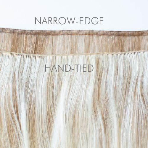 Narrow Edge Hair Extension | Pecan