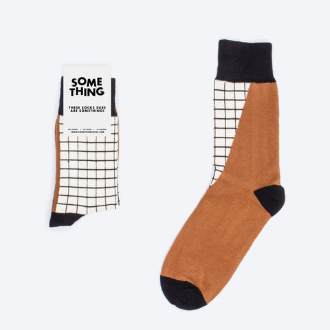 Modern Grid Socks