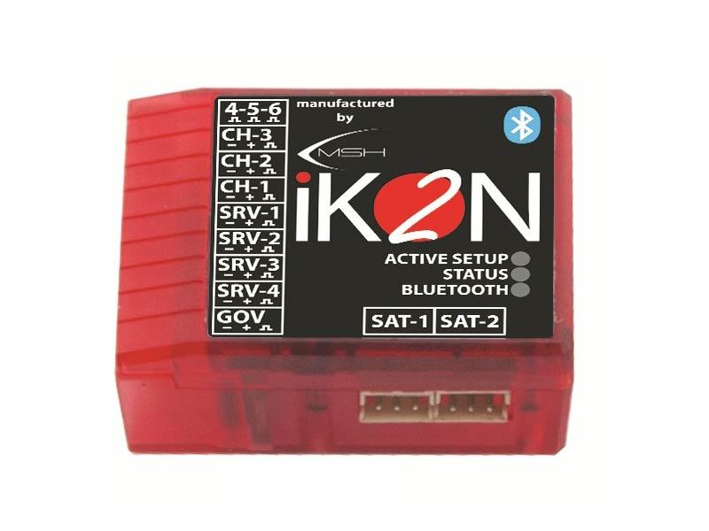 IKON2 Flybarless System with Integrated Bluetooth Module - Micro USB Cable Not Included