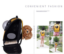 Load image into Gallery viewer, Cat Carrier Backpack with Glass Bubble