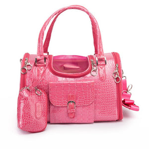 Pink Tote Bag Cat Carrier for Traveling