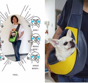 Single Shoulder Sling Bag for Cat