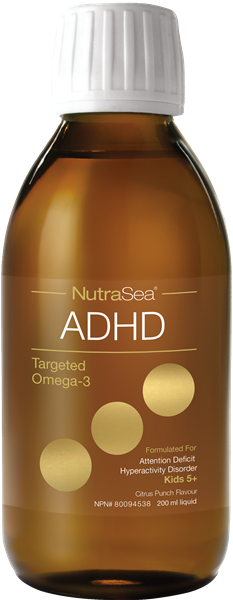 Nutrasea Targeted Omega 3 - ADHD 200 ml