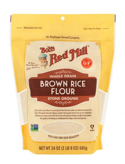 Bob's Red Mill Whole Grain Brown Rice Flour - 680 grams