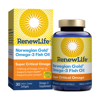 Renew Life Super Critical Omega - Fish Oil