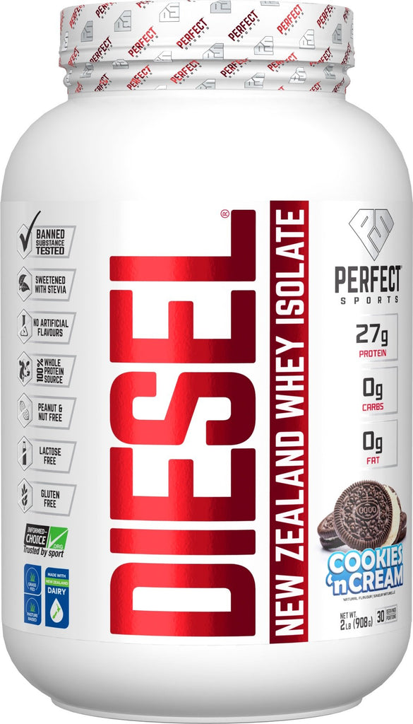 Cookies 'N Cream Diesel Protein Powder 2LB
