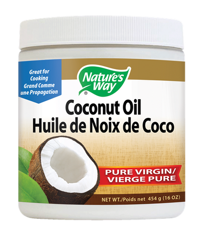 Pure Virgin Organic Coconut Oil - 454 grams