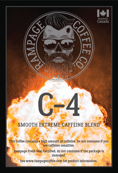 C4 Ground Coffee - Smooth Extreme Blend 360 grams