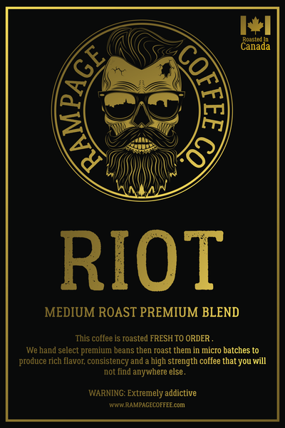 Riot Ground Coffee - Medium Roast 360 grams