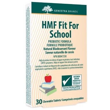 HMF Fit for School Probiotics - 30 chewable tablets