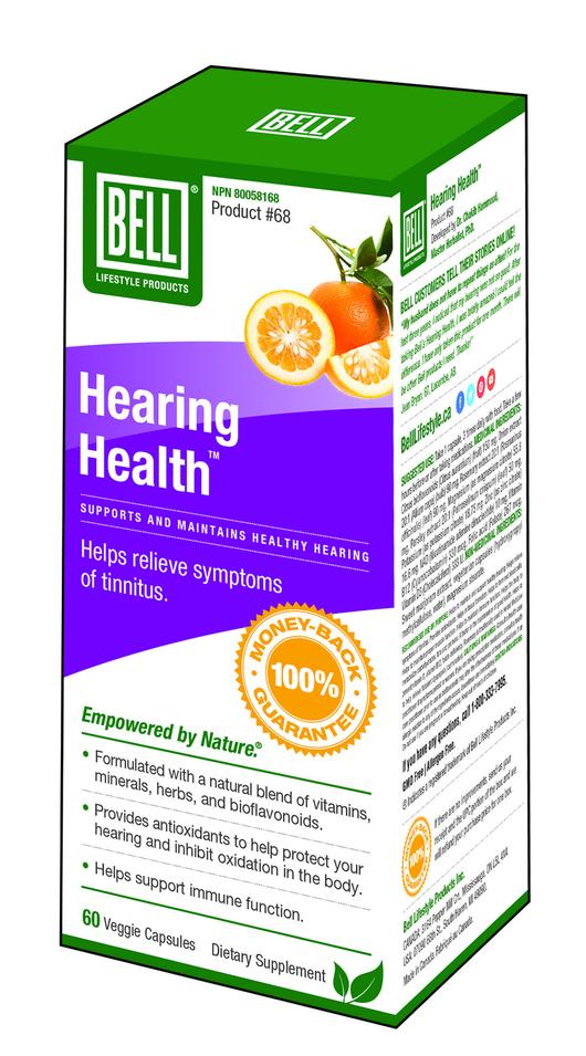 Bell - Hearing Health 60 capsules
