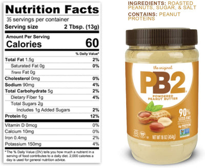 PB2 Powdered Peanut Butter - Original