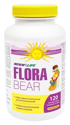 Flora Bear Kids Chewable Probiotics