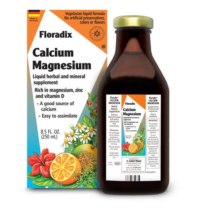 Flora Liquid Calcium Magnesium with Zinc and Vitamin D