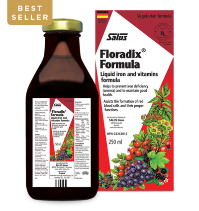 Floradix - Liquid Iron and Vitamins Formula