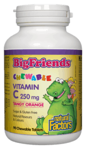 Big Friends Kids Vitamin C - 90 Chewable Tablets