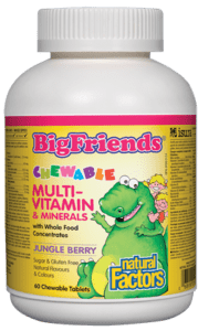 Big Friends Kids Multivitamins & Minerals - 60 Chewable Tablets