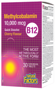 Vitamin B12 10,000 mcg - Quick Dissolve Cherry Tablets