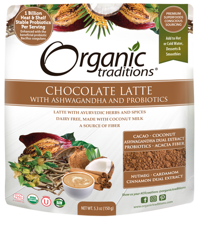 Organic Traditions Chocolate Latte