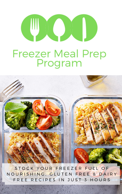 The Nourished Mama's Freezer Meal Prep Program