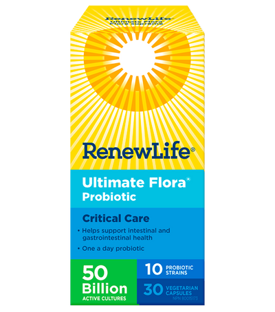 Ultimate Flora 50 Billion Critical Care Probiotics