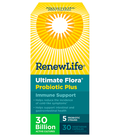 Renew Life Ultimate Flora Immune Support Probiotic - 30's